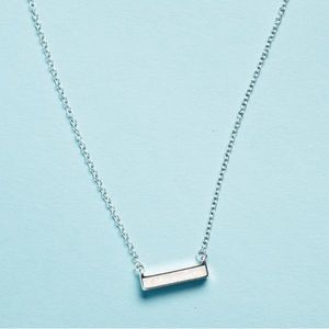 Jewelry - 2BANDITS Athens Necklace Iridescent Bar! New!